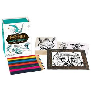 [Harry Potter: Magical Creatures Coloring Kit (Product Image)]