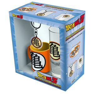 [Dragon Ball: Kame Symbol Glass, Keyring & Mini Mug Giftbox (Product Image)]