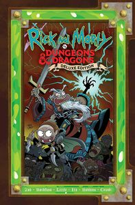 [Rick & Morty Vs Dungeons & Dragons (Hardcover) (Product Image)]