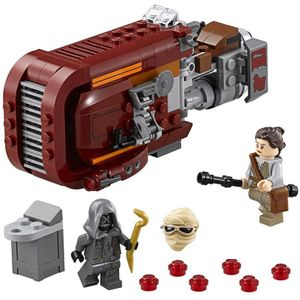 [Star Wars: The Force Awakens: Lego: Rey's Speeder (Product Image)]