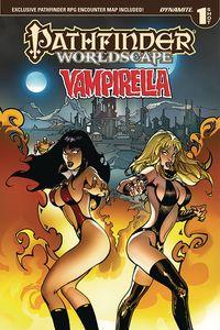 [Pathfinder: Worldscape: Vampirella One Shot (KS Edition) (Product Image)]