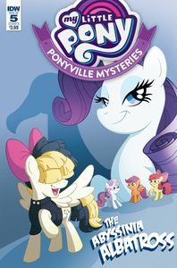 [My Little Pony: Ponyville Mysteries #5 (Cover B Murphy) (Product Image)]