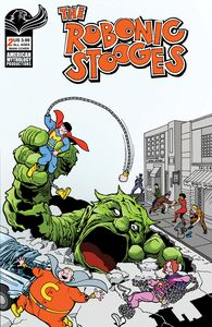 [Robonic Stooges: Fantastic Fools #2 (Cover A Shanower) (Product Image)]