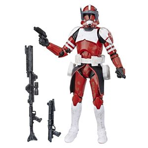 [Star Wars: The Clone Wars: Black Series Action Figure: Clone Commander Fox (Product Image)]