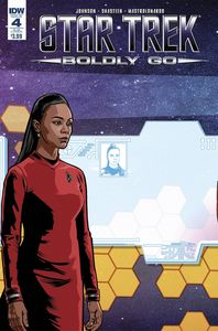 [Star Trek: Boldly Go #4 (Subscription Variant) (Product Image)]