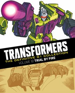 [Transformers: Definitive G1 Collection: Volume 9: Trial By Fire (Hardcover) (Product Image)]