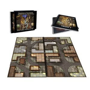 [Towns & Taverns: Set Of 2 Battle Map Books (Product Image)]