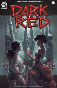 [The cover for Dark Red #8]