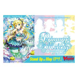 [Cardfight Vanguard: Booster Box: Primary Melody Extra (Product Image)]