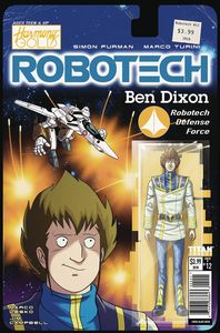 [Robotech #12 (Cover B Action Figure Variant) (Product Image)]