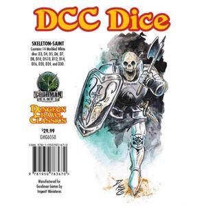 [Dungeon Crawl Classics: Dice: Skeleton Saint (Product Image)]