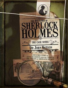 [Return Of Sherlock Holmes: The Case Notes (Hardcover) (Product Image)]