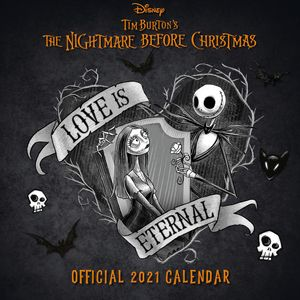 [The Nightmare Before Christmas: 2021 Square Calendar (Product Image)]