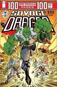 [Savage Dragon #225 (25th Anniversary Cover A Larsen) (Product Image)]