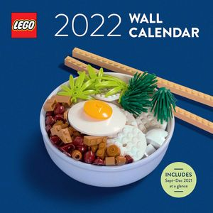 [LEGO: 2022 Wall Calendar (Product Image)]
