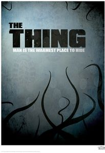 [The Thing: Limited Edition Print: Man Is The Warmest Place To Hide (Product Image)]