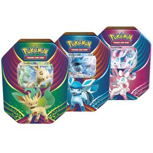 [Pokemon: Trading Card Game: Evolution Celebration Tin Eevee (Product Image)]