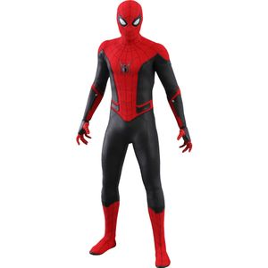 [Spider-Man: Far From Home: Hot Toys Action Figure: Upgraded Suit Spider-Man (Product Image)]