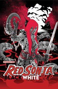 [Red Sonja: Black White Red #3 (Cover B Izaakse) (Product Image)]