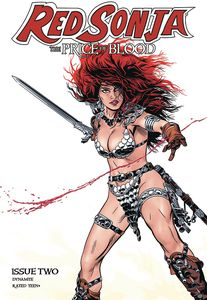 [Red Sonja: Price Of Blood #2 (Cover B Golden) (Product Image)]