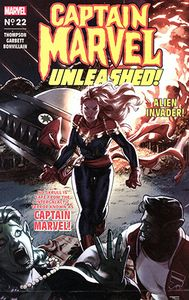 [Captain Marvel #22 (Clarke Captain Marvel Unleashed Horror Variant) (Product Image)]