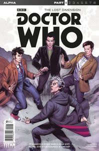 [Doctor Who: Lost Dimension: Alpha #1 (Cover C Stott) (Product Image)]