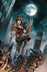 [The cover for Van Helsing Vs League Monsters #5 (Cover A Vitorino)]