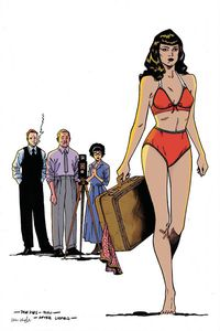 [Bettie Page #3 (Peeples Virgin Variant) (Product Image)]