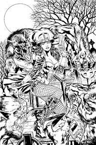 [Van Helsing Vs The Werewolf #4 (Cover B Vitorino) (Product Image)]