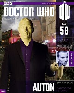 [Doctor Who: Figurine Collection Magazine #58 Auton (Product Image)]