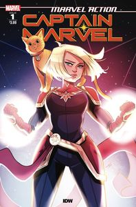 [Marvel Action: Captain Marvel #1 (Cover A Boo) (Product Image)]