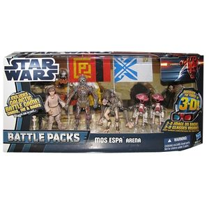 [Star Wars: Discover The Force 3D: Episode 1: Battlepacks: Mos Espa Arena (Product Image)]