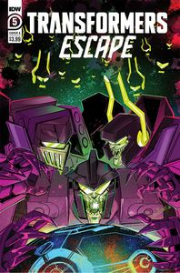 [Transformers: Escape #5 (Cover A Mcguire-Smith) (Product Image)]