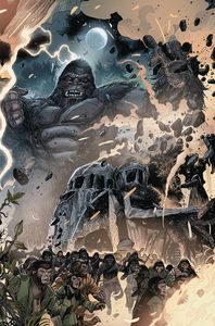 [Kong On The Planet Of The Apes #5 (Connecting Magno Variant) (Product Image)]