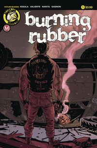 [The cover for Burning Rubber (One Shot)]