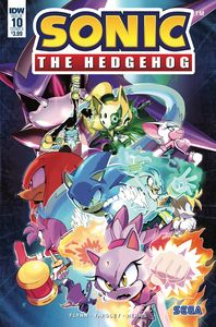 [Sonic The Hedgehog #10 (Cover A Thomas) (Product Image)]