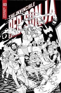 [Invincible Red Sonja #3 (Cover G Conner Line Art Variant) (Product Image)]
