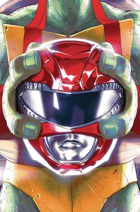 [Power Rangers/Teenage Mutant Ninja Turtles #1 (Cover C Montes) (Product Image)]