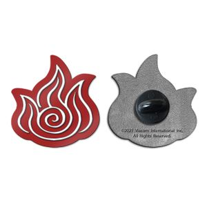 [Avatar The Last Airbender: Enamel Pin Badge: Fire Element (Product Image)]