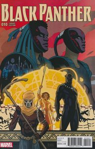 [Black Panther #10 (Rivera Connecting F Variant) (Product Image)]