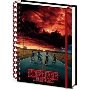 [Stranger Things: 3D Cover A5 Notebook: Mind Flayer (Product Image)]