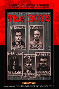 [Boys: Volume 6: Self-Preservation Society (Limited Signed Edition - Hardcover) (Product Image)]