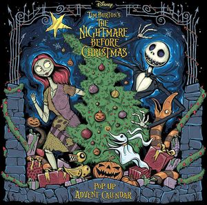 [The Nightmare Before Christmas: Pop-Up Book Advent Calendar (Hardcover) (Product Image)]