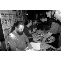[Brian Bolland, Simon Bisley and Kev Walker Signing (Product Image)]
