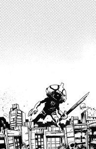[Ultramega #3 (2nd Printing Cover B Harren Black & White Variant) (Product Image)]