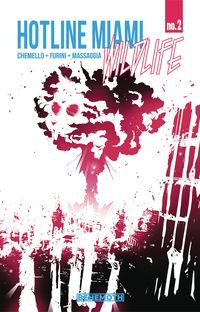 [The cover for Hotline Miami: Wildlife #2]