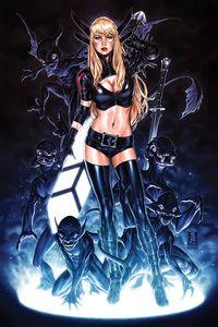 [New Mutants: Dead Souls #1 (Signed Mark Brooks Magik Black Virgin Variant Cover C) (Product Image)]
