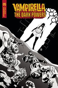 [Vampirella: Dark Powers #5 (Lau Black & White Variant) (Product Image)]