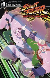 [Street Fighter: Wrestlepalooza #1 (Cover B Cruz) (Product Image)]