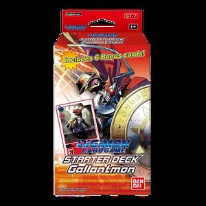 [Digimon: Card Game: Starter Deck: Gallantmon (Product Image)]